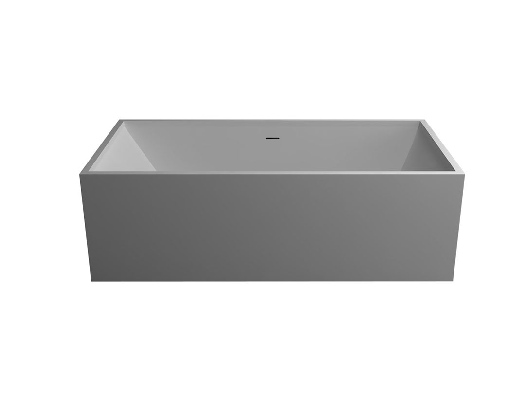 Rectangular Solid Surface Bath Meco Choice For Your